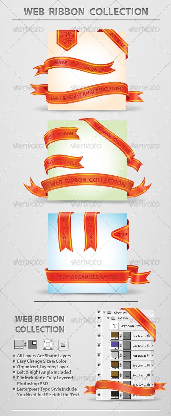 Web Ribbon Collection - Web Elements