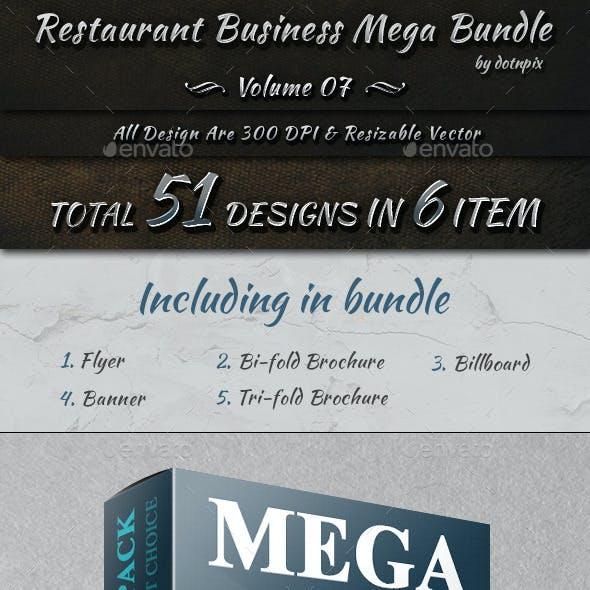 Restaurant Business Mega Bundle   Volume 7