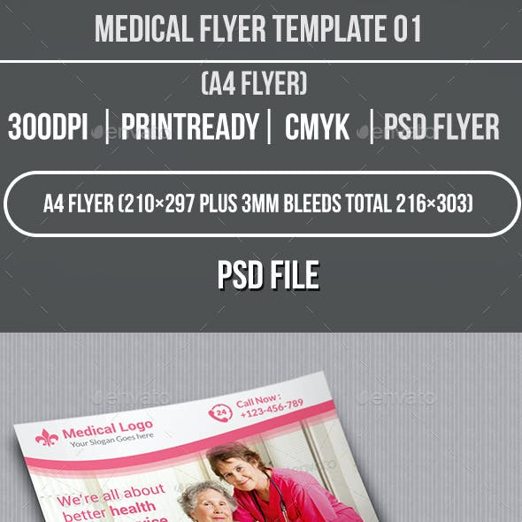 Medical Flyer Template 01