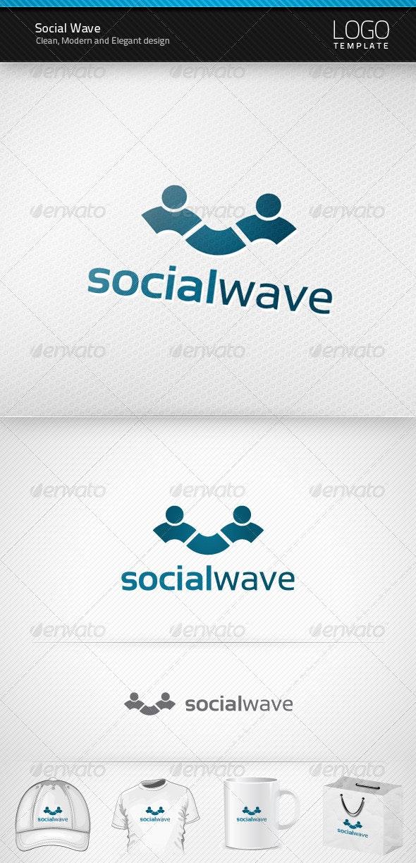 Social Wave Logo - Symbols Logo Templates