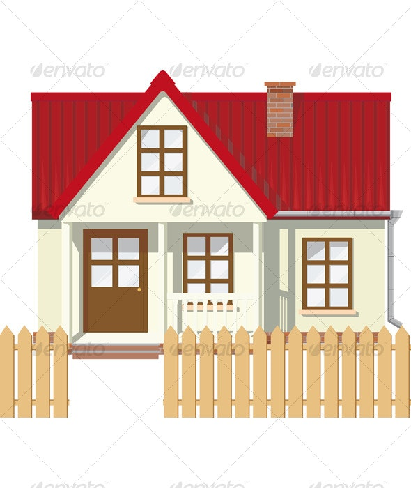 Small Mansion house - Buildings Objects
