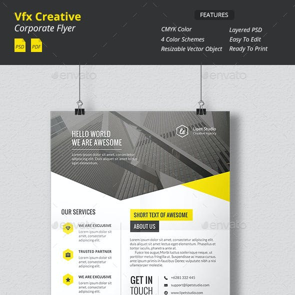 Vfx - Creative Corporate Flyer v1