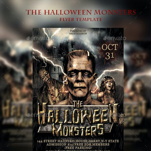 Halloween Flyer Template V2