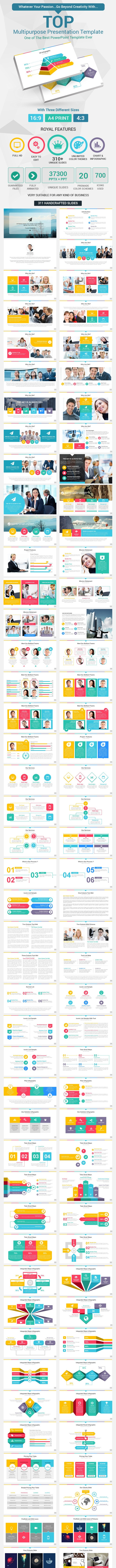 Top PowerPoint Presentation Template - PowerPoint Templates Presentation Templates