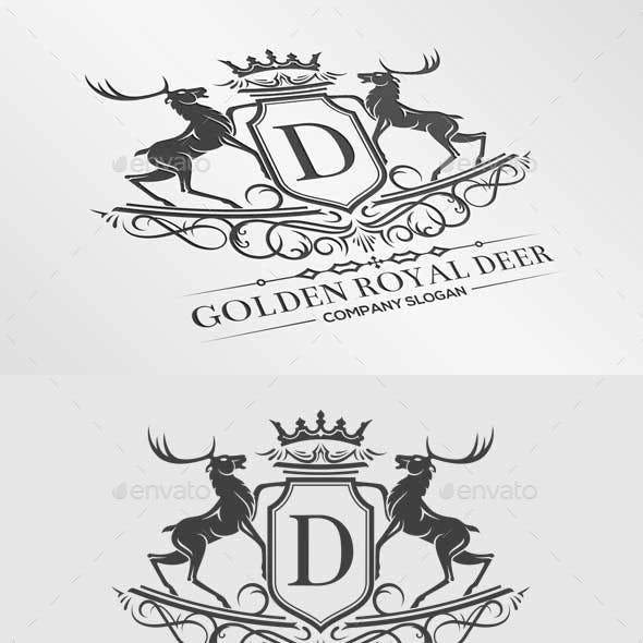Golden Royal Deer