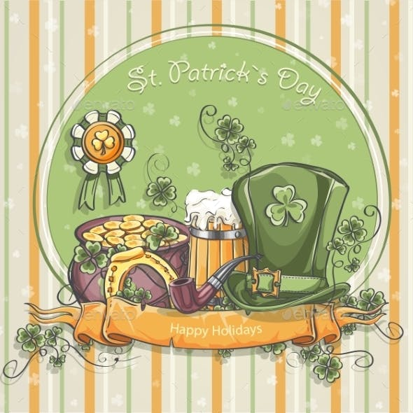Greeting Card for St. Patrick's Day