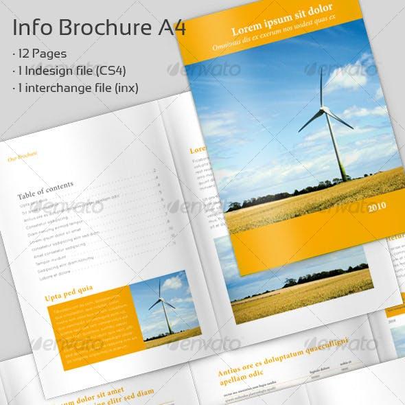 Info Brochure A4