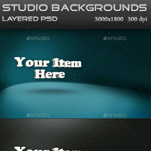 Product Presentation Studio Backgrounds