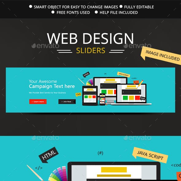 Web Design Slider