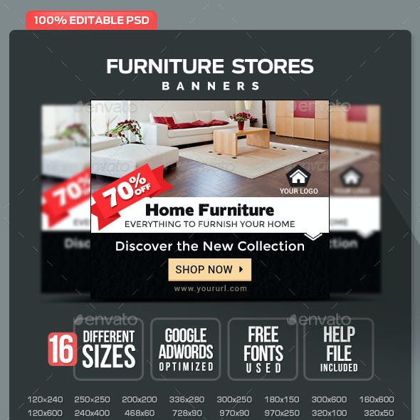Furniture Stores Banners