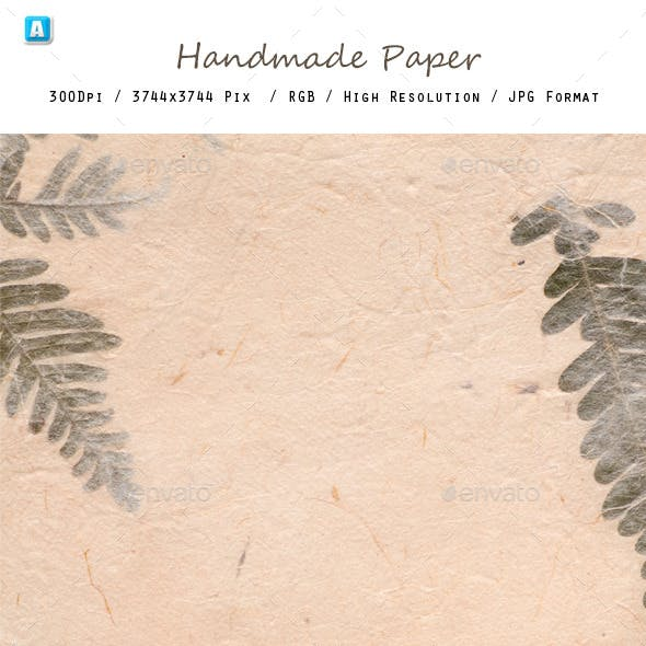 Hand Made Paper 0099