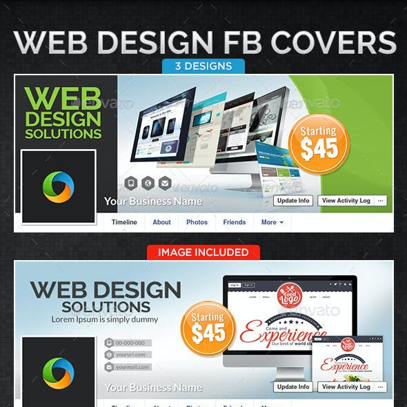 Web Design Company Facebook Cover