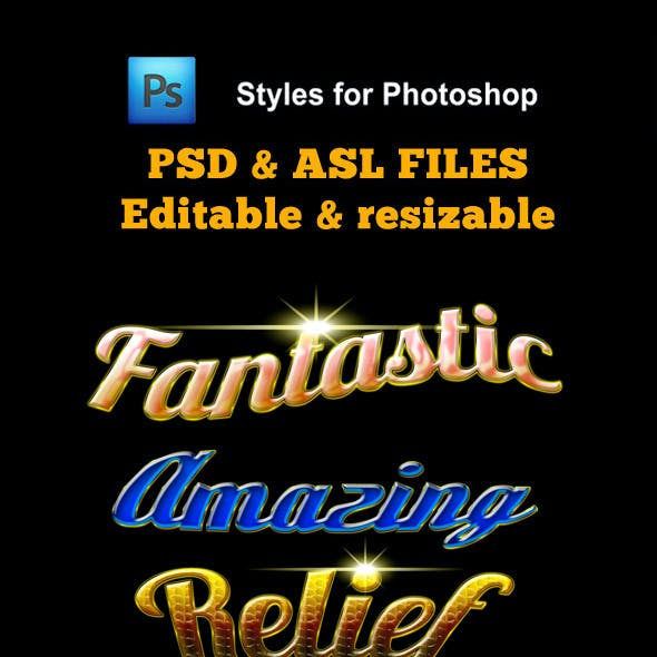 Fantastic Styles for Photoshop