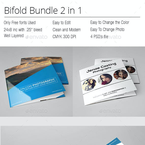 Photographer Square Bifold Bundle