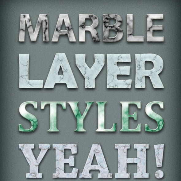14 Marble Styles