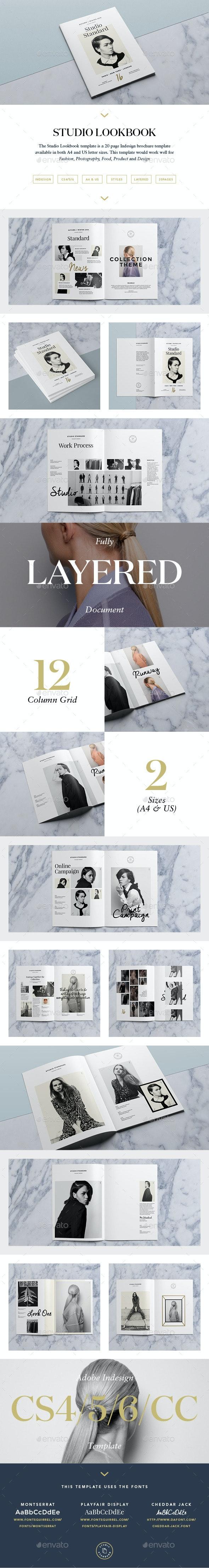 Studio Lookbook - Catalogs Brochures