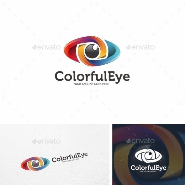 Colorful Eye - Logo Template