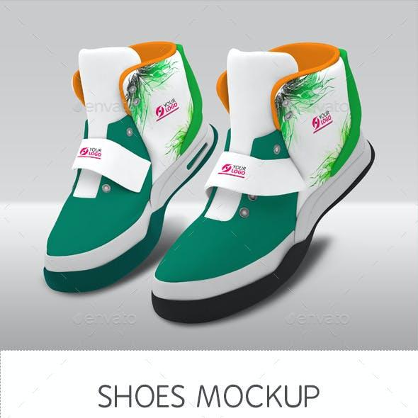 Shoes Mockup