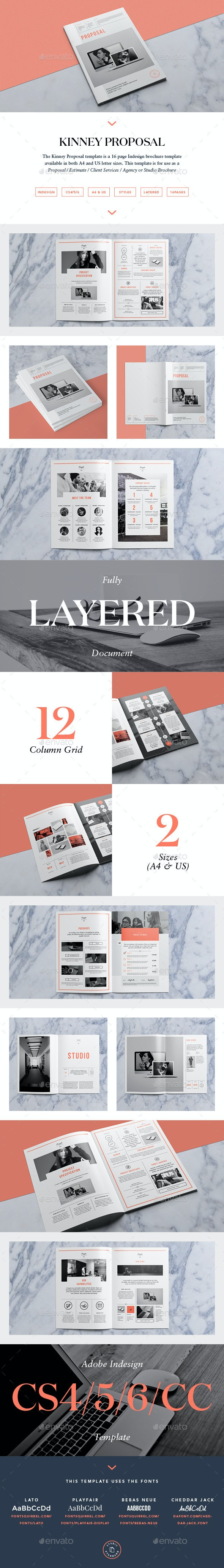 Kinney Proposal - Proposals & Invoices Stationery