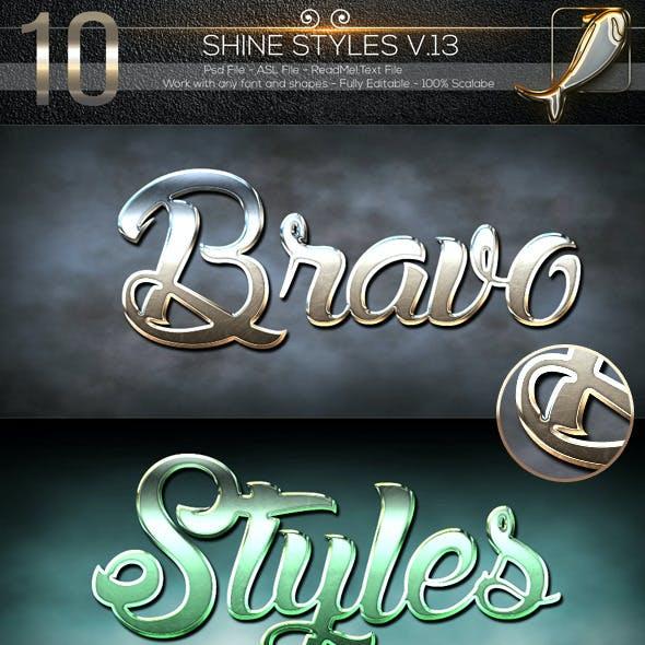 10 Shine Styles V.13