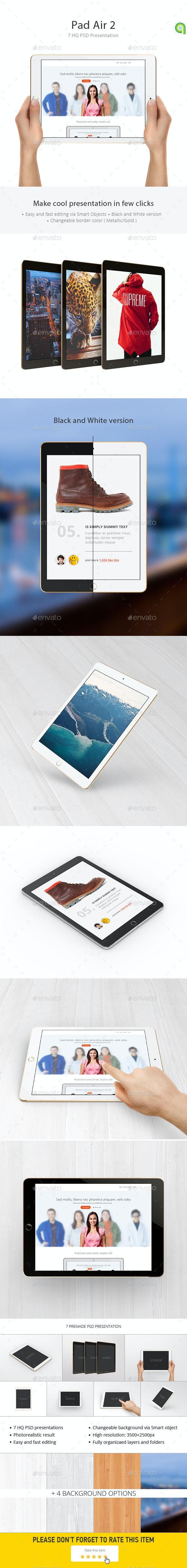 Tablet Mockup - Mobile Displays