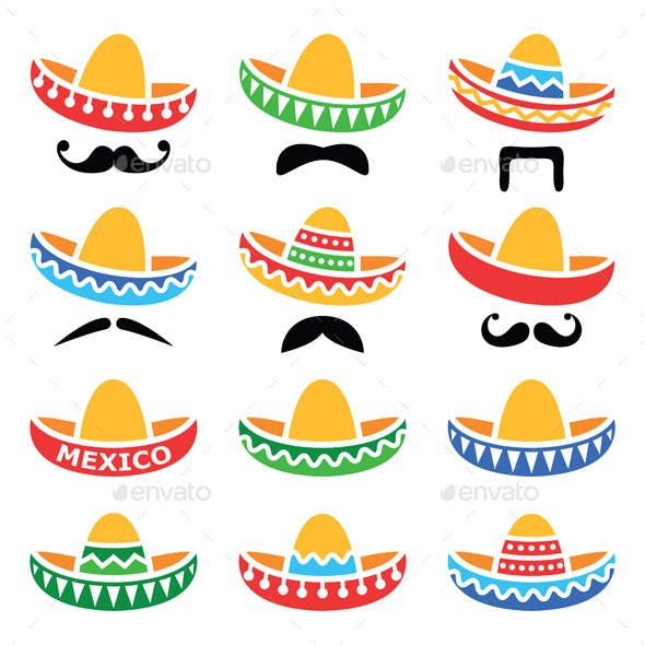 Mexican Sombrero Hats