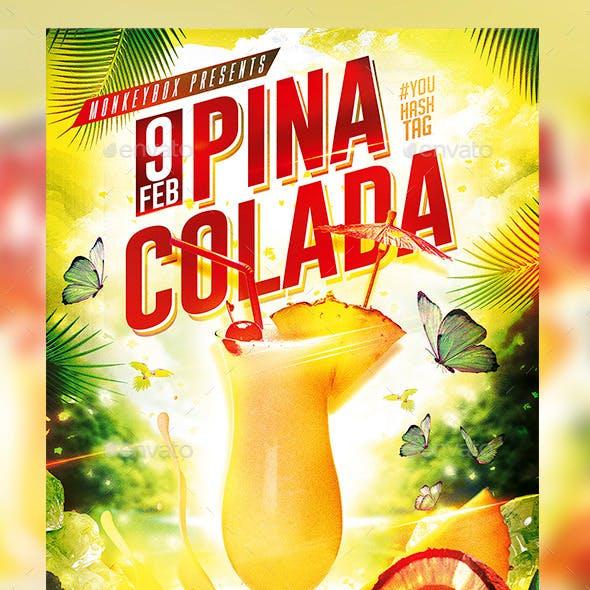 Flyer Pina Colada Konnekt