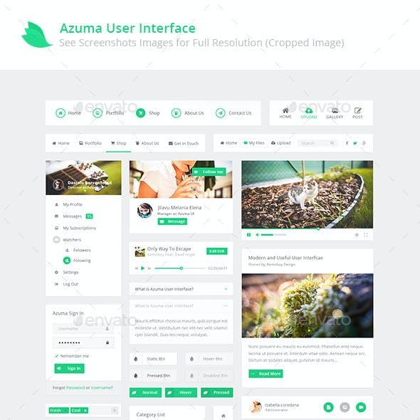 Azuma UI - New Modern User Interface Design