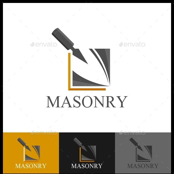 Masonry Logo Template
