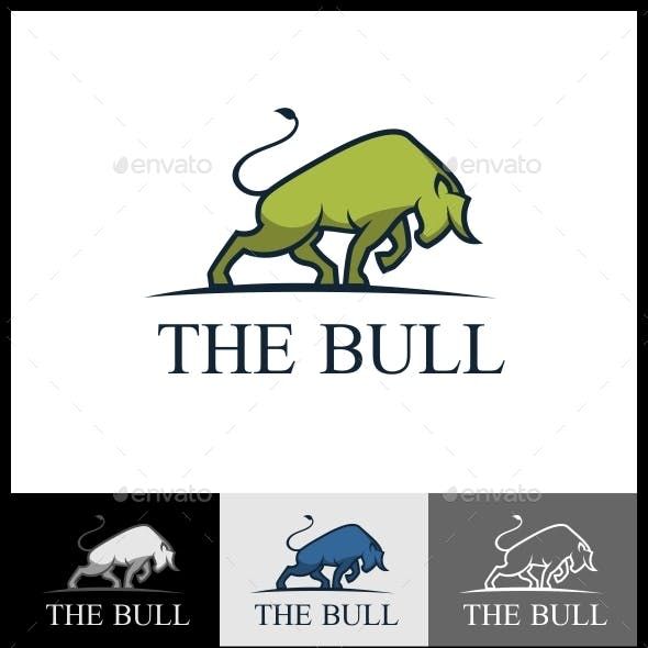 The Bull Logo Template
