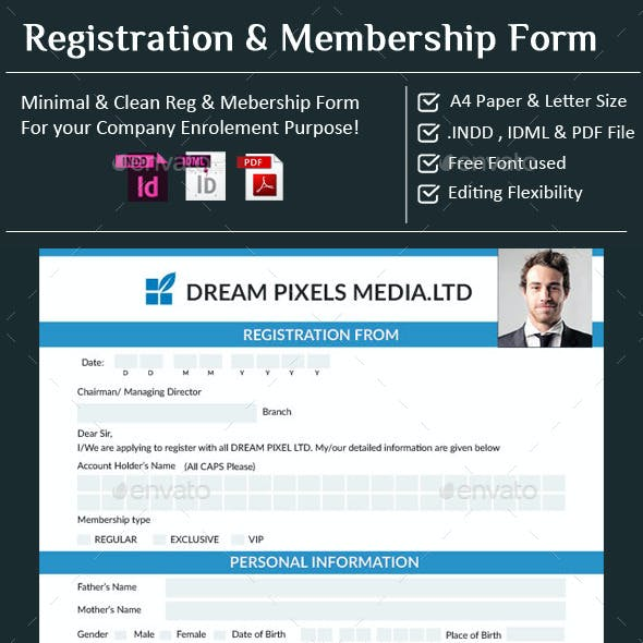 Registration & Membership Form