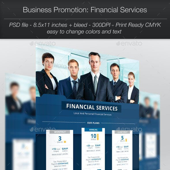 Business Promotion: Financial Services