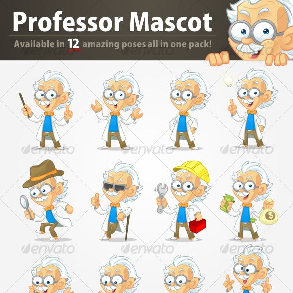 Professor Mascot Pack