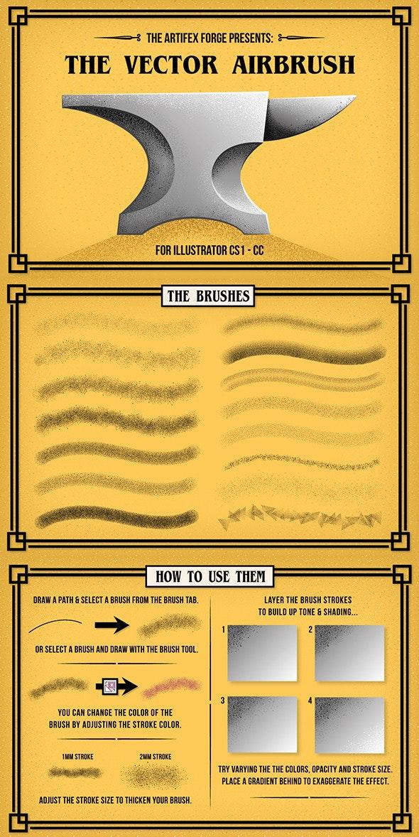 The Vector Airbrush - Brushes Illustrator