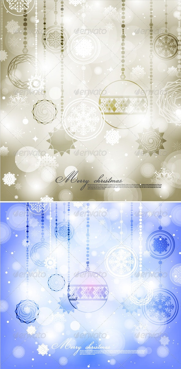 Xmas Background - Christmas Seasons/Holidays