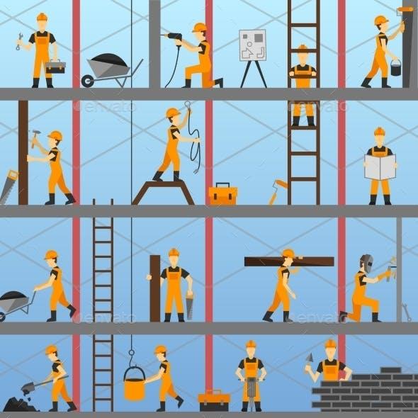 Construction Process Background