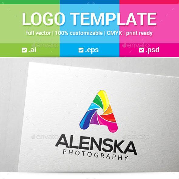 Alenska Letter A Logo