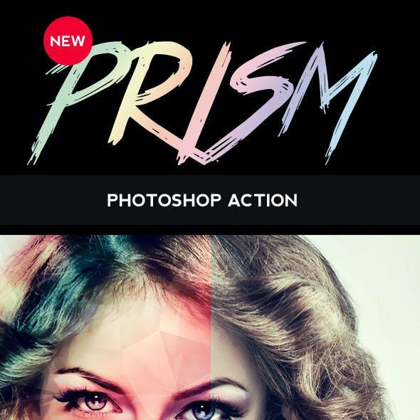 Prism Photoshop Action