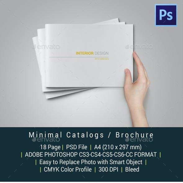 Minimal Catalogs / Brochure / Portfolio