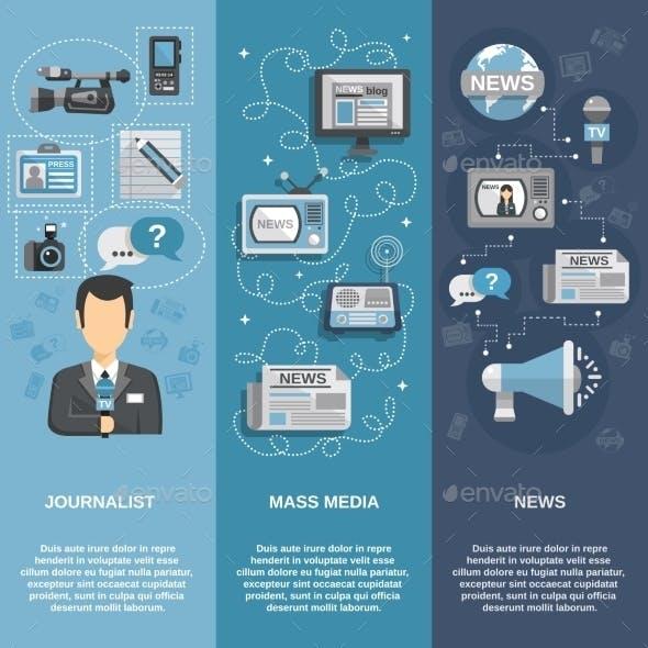Journalist Banner Set