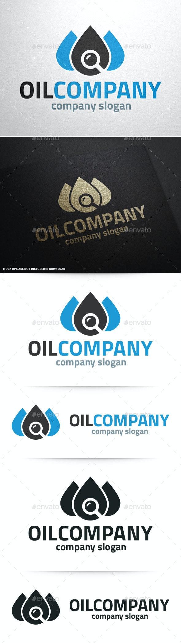 Oil Company Logo v2