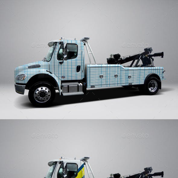 Tow Truck Graphics, Designs & Templates from GraphicRiver
