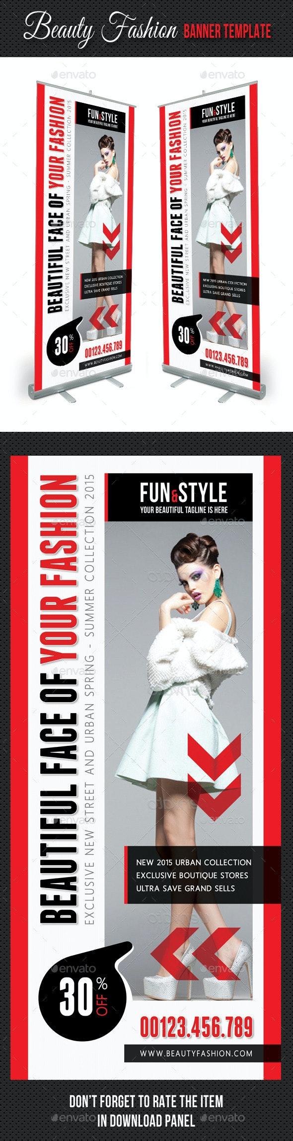 Beauty Fashion Banner Template V01