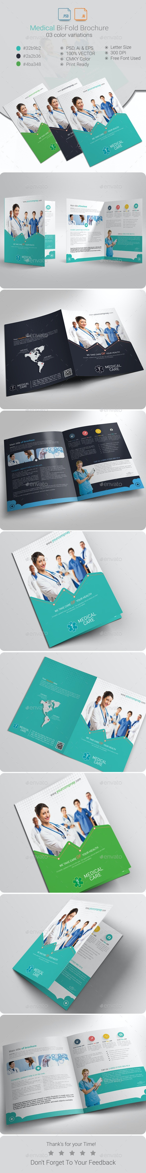 Medical Bi-Fold Brochure - Corporate Brochures