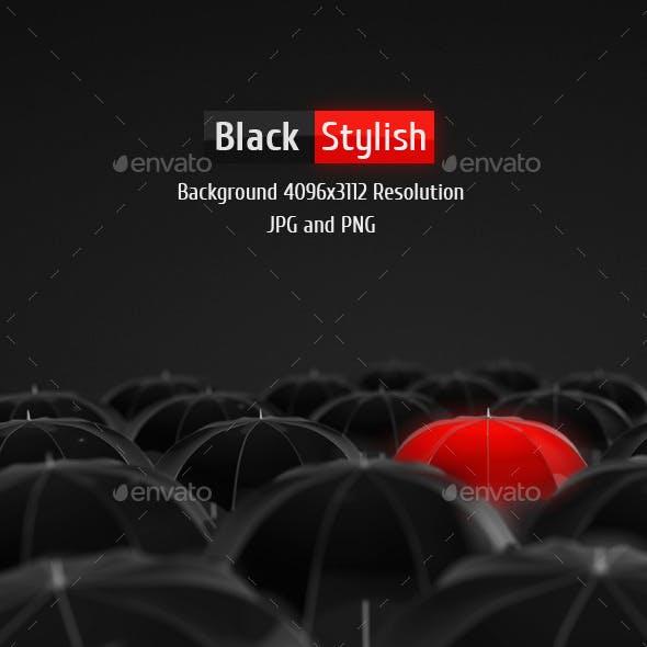 Black Stylish Background