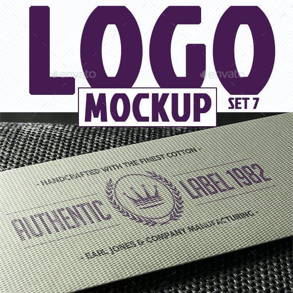 Photorealistic Logo Mockup (pack 2/3)