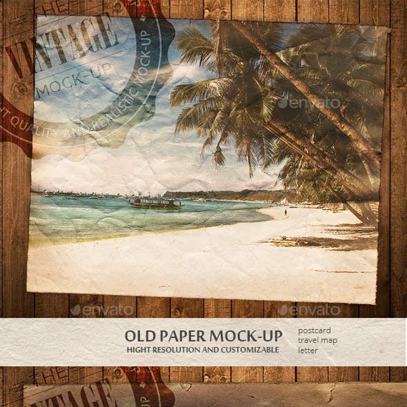 Old Paper Mock-ups