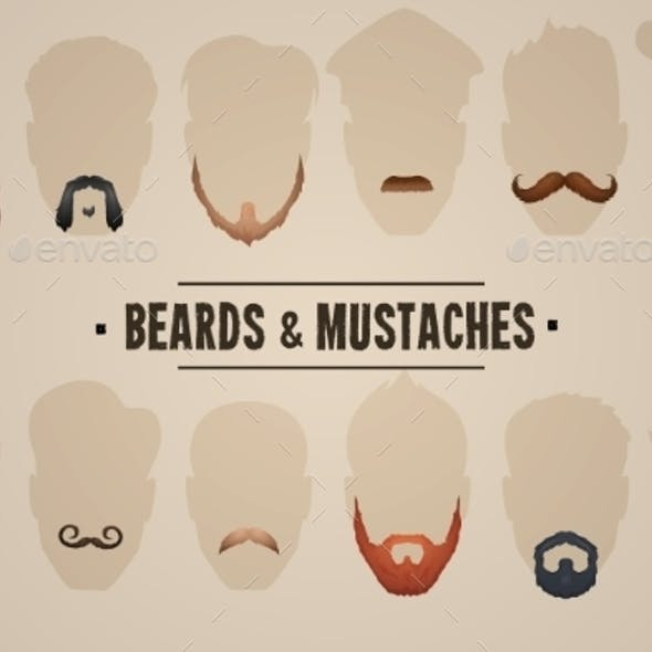 Beards and Mustaches