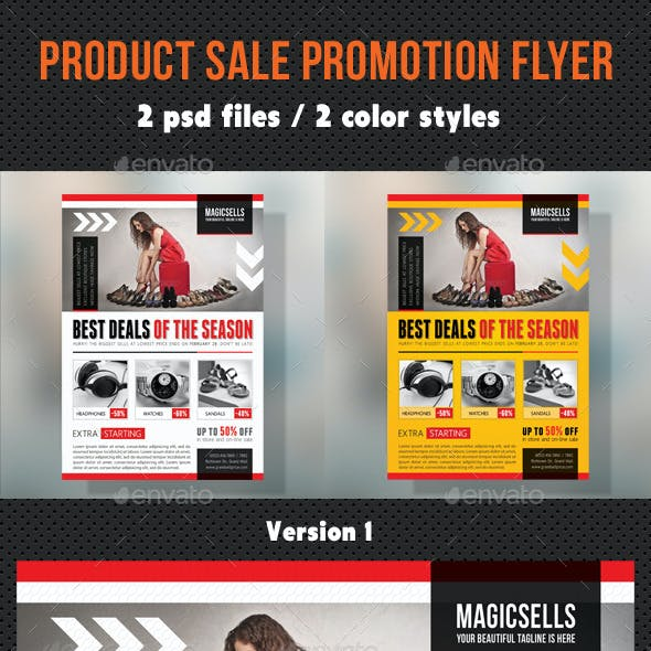Product Sale Promotion Flyer V02