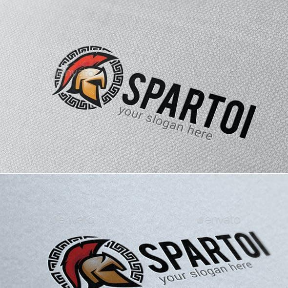 Spartoi Logo Template